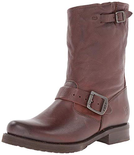 Frye Veronica Shorty, Damen Stiefel, Braun (Dark Brown), 37.5 EU (7 M US)