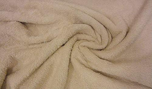 Tela de lana de rizo de Fabrics-city, pesada, tela a 2 lados, 2830