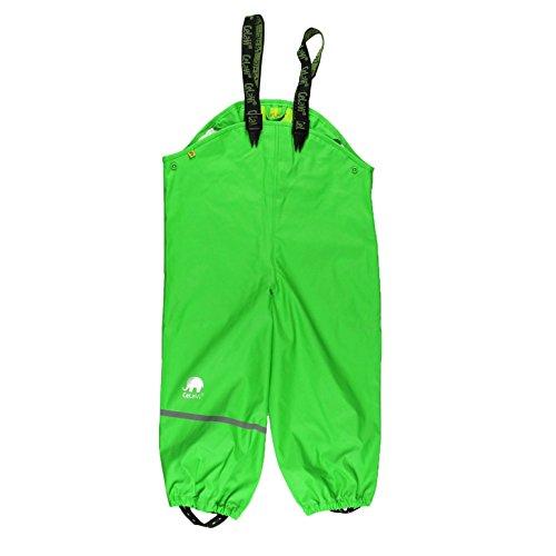 CeLaVi Baby-Jungen Rainwear Pants - Solid Regenhose, Grün (Grün 974), 70 cm