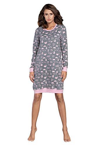 Italian Fashion camisón Lactancia Hospital Maternidad Embarazada Nacimiento algodón Suave