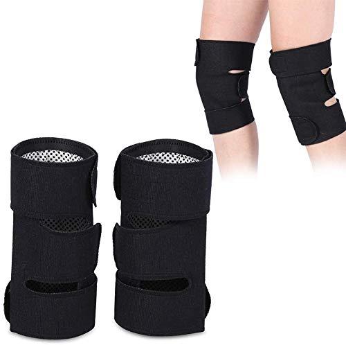 WNN-URG Los apoyos de Rodilla, 1 par Self-Heating Turmalina magnética de Rodilla Terapia de protección de la Correa de la Artritis Brace URG