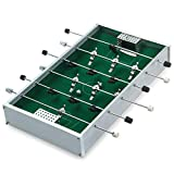 ZXQZ Futbolín Futbolín Mini Fussball de Aluminio, Futbolín, Juguetes Creativos Futbolín futbolines