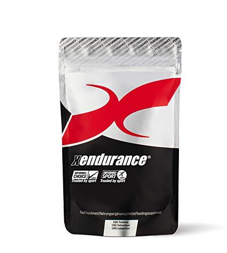 Xendurance Performance, Endurance & Performance Supplement, 180 tabletten, 30 Goed voor 30 dagen, 153g