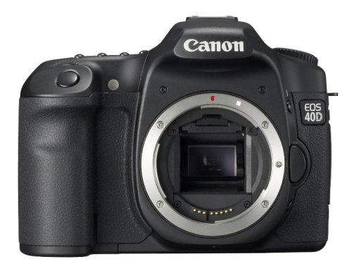 Canon EOS 40D 10.1MP Digital SLR Camera (Body Only) [International Version, No Warranty]