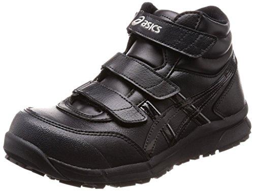 [アシックス] ワーキング 安全靴/作業靴 ウィンジョブ CP302 JSAA A種先芯 耐滑ソール αGEL搭載 ブラック/ブラック 26.0