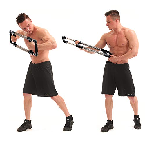 GOFITNESS Push Down Machine - Portable Gym Equipment for Exercise at Home, Office or Travel - Upper Body Workout: Build Muscle, Strength Exercises