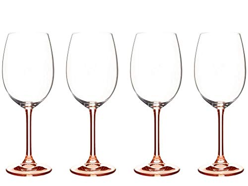 BITZ Wine Glass 45cl 4 pcs. Rose