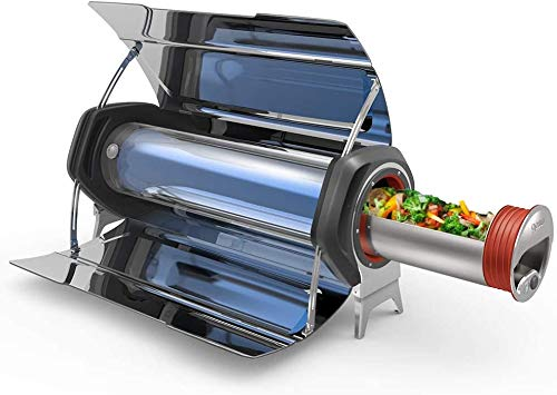 GOSUN Fusion 2020 Solar Oven - Hybrid Electric Grill; Portable Oven & High Capacity Solar Cooker; Indoor or Outdoor Oven; American Sun Oven Camping Cookware - Survival Gear Powered by Sun/Electricity