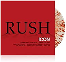 Rush Icon - Exclusive Limited Edition Clear With Heavy...