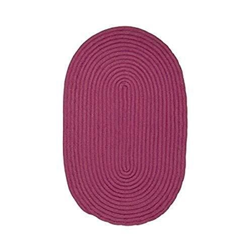 MonBeauTapis Tapis 80 x 50 cm, Coton, Prune, 80 x 150 cm
