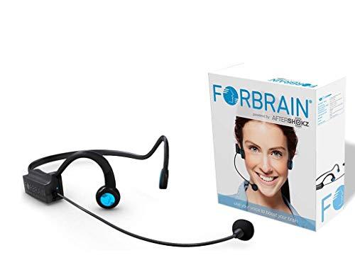 Forbrain bone conduction audio feedback headset