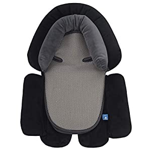 crib bedding and baby bedding coolbebe upgraded 3-in-1 baby head neck body support pillow for newborn infant toddler - extra soft car seat insert cushion pad, perfect for carseats, strollers, swing
