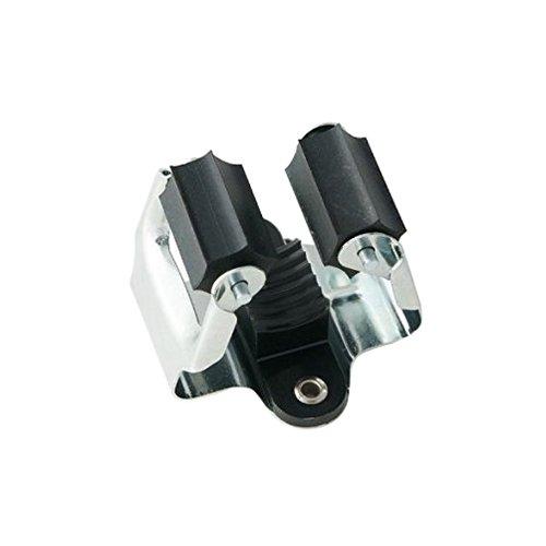 Prax 4013563035101 Gerätehalter Ø35mm in silber/schwarz