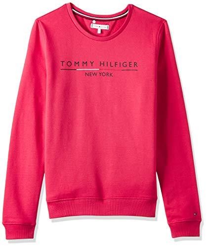 Tommy Hilfiger Bluza dziewczęca Essential Logo Crew