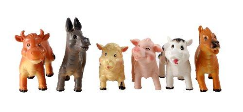 Peterkin - Set di pupazzetti, Motivo: Gli Animali della Fattoria