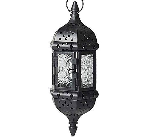 TooGet hangende kaarsen lantaarn decoratieve metalen vintage muur kaarsenhouder, Europese stijl kaarsenhouder voor thuis, veranda, bar, bruiloft, winkel