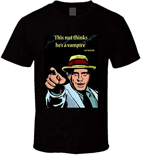 MUL The Night Stalker TV Series Kolchak Cita Tendencia Nostalgia camiseta Negro