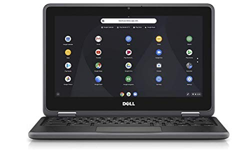 Dell Chromebook 11 3000 11.6 Inch HD LED-Backlit Laptop - (Black) Intel Celeron N3060, 4 GB RAM, 16 GB eMMC, Chrome OS