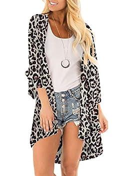 Best leopard print kimono Reviews