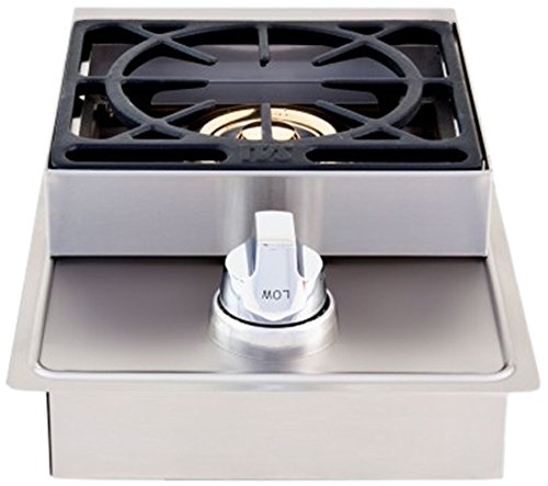 Lion Premium Grills L5631 Natural Gas Single Side Burner, 20-1/2 by 12-1/2-Inch  Accessories Burners Cooking Eligible for garden lawn Monthly Outdoor patio Payments Products Side Tools