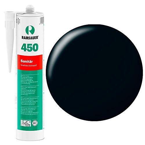 Ramsauer 450 1K Silikon Dichtstoff 310ml Kartusche (Schwarz)