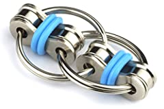 LOWER YOUR STRESS AND ANXIETY: The flippy chain fidget has helped people to quit smoking, lower stress levels, succeed in school, stop biting nails & picking at scabs, relieve social tension at parties or gatherings... even improve relationships. The...