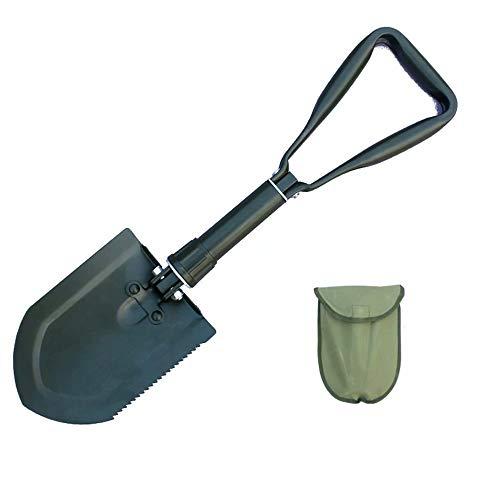 GG-shovel Pala de Exterior Pala de Coche multifunción de Pesca Plegable fácil...