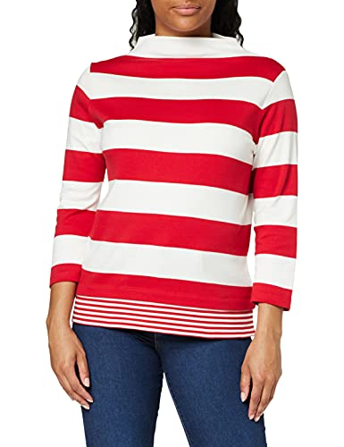 Esprit 020ee1k328 Camiseta, 610/Rojo Oscuro, L para Mujer