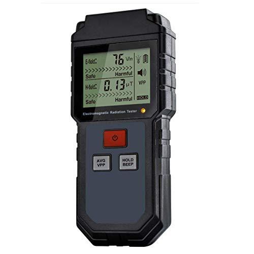 EMF Meter, Electromagnetic Radiation Tester,Hand-held Digital LCD EMF Detector, Great Tester for...