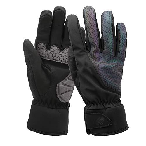 Pwshymi Warme Handschuhe wasserdichte Winterhandschuhe Skifahren Verdicken Schutz Isolierte Thermohandschuhe zum Skifahren Radfahren Outdoor-Sport