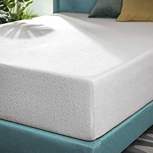 Zinus 10 Inch Green Tea Memory Foam Mattress / CertiPUR-US Certified / Bed-in-a-Box / Pressure Relieving, King