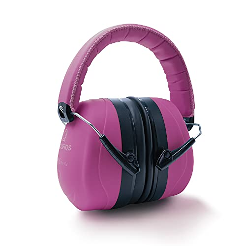 Prolifiqs Gehörschutz für Erwachsene in verschiedenen Farben – getestet bis 98 dB I Lärmschutz Kopfhörer Erwachsene I PVC-freie Lärmschutzkopfhörer für Frauen & Männer I Pink