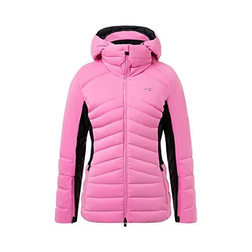 KJUS Women Duana Jacket Pink-Schwarz, Damen Dermizax™ Jacke, Größe 38 - Farbe Frozen Pink - Black