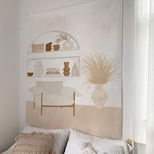 KHKJ Personalidad Tapiz de Pared Creativo Tapiz Abstracto decoración nórdica Colgante de Pared Tapiz de diseño Creativo A5 200x180cm