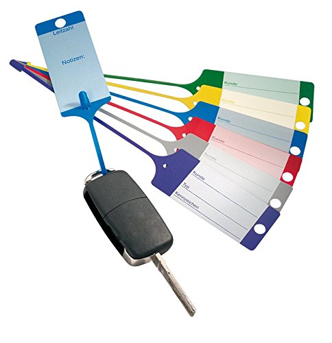 100 Schlüsselanhänger/Fixanhänger Blau
