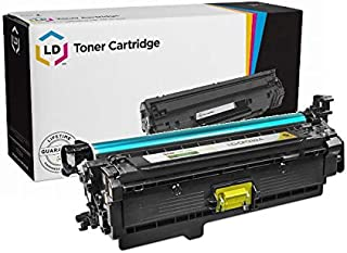 LD Remanufactured Toner Cartridge Replacement for HP 646A CF032A (Yellow)