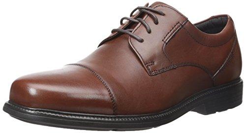 Rockport Men's Charles Road Cap Toe Oxford Tan II Leather 14 M (D)-14  M