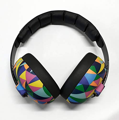 Banz Bubzee Baby Hearing Protection Earmuffs, from 0-2Years, Kaleidoscope