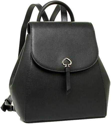 Kate Spade Adel medium flap Leather Backpack Black product image