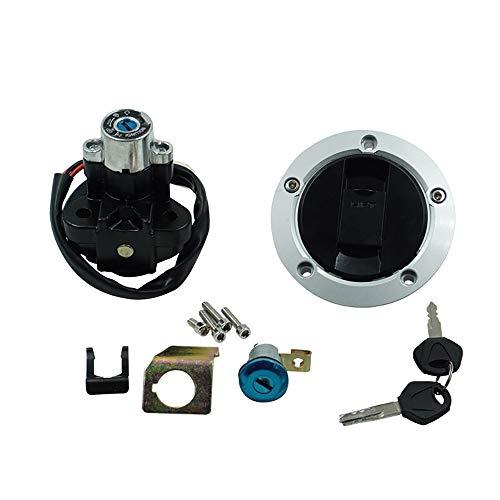 No-Branded Accesorios de la Motocicleta Tapa del Interruptor de Encendido del Gas de Combustible Tapa de Bloqueo del Asiento for GSXR600 750 2004-15 W.S.T.T.S.W