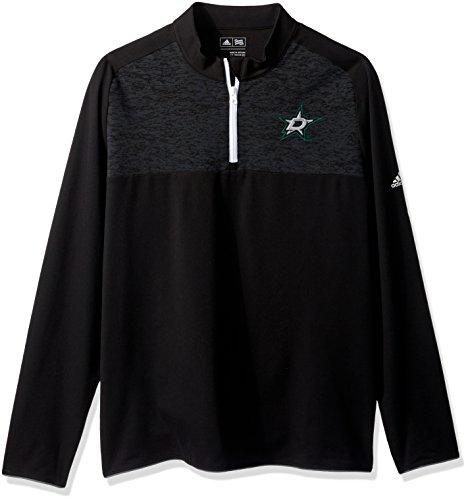 NHL Dallas Stars Herren Climawarm Fashion 2-lagiger Pullover Top, Größe S, Schwarz