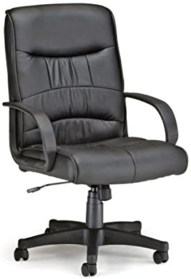 OFM Inc Leatherette Mid-Back Executive Chair - by OFM