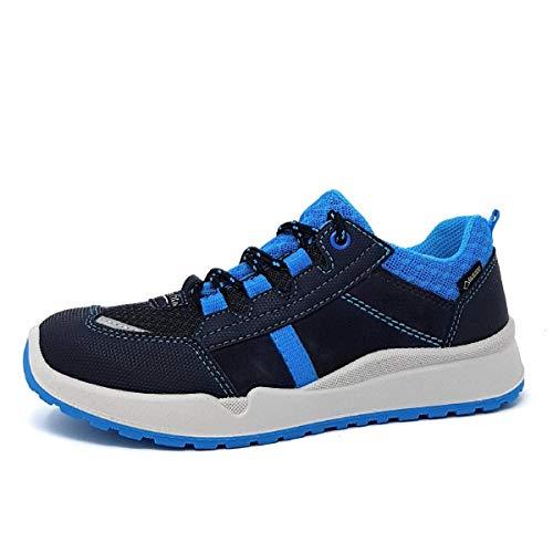 Superfit Jungen Strider Sneaker, Blau (Blau 80), 35 EU