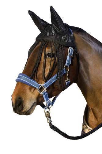 United Sportproducts Germany USG, maschera antimosche per cavallo con paraorecchi
