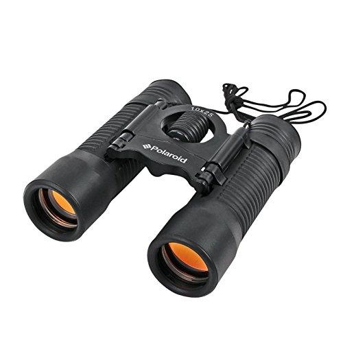 Polaroid verrekijker Binocular 10x25 mm inklapbaar zwart