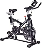 IDEER LIFE Exercise Bike Indoor Cycling Bike Stationary Smooth & Quiet Spin Bike...
