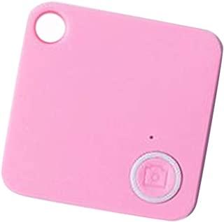 Gps For Tracker Tracking Mini Tag Bluetooth Locator Alarm Child Key (Pink)