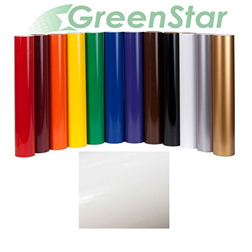 "GreenStar Sign Vinyl 24"" x 10Yd, Graphics and Lettering for Interior & Exterior - Gloss White"