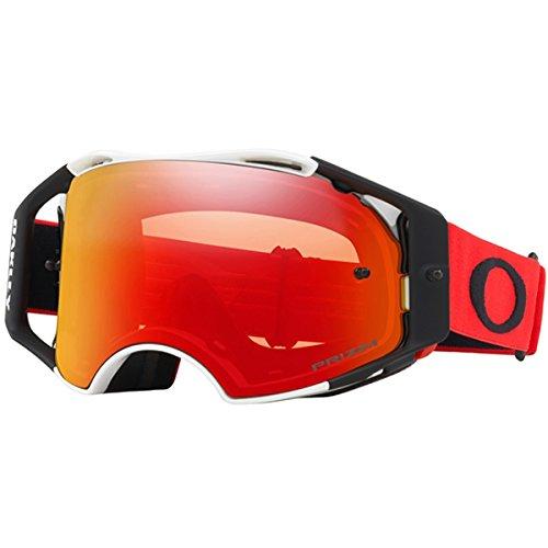 Oakley unisex-adult OO7046-60 Sunglasses, rot, Einheitsgröße