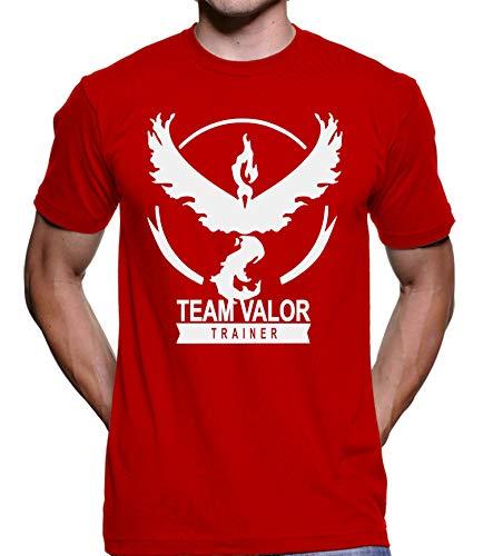 Camiseta Team Valor (Vermelho, P)